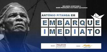 """Antonio Pitanga comemora 80 anos e contracena com os filhos em """"Embarque Imediato"""""""