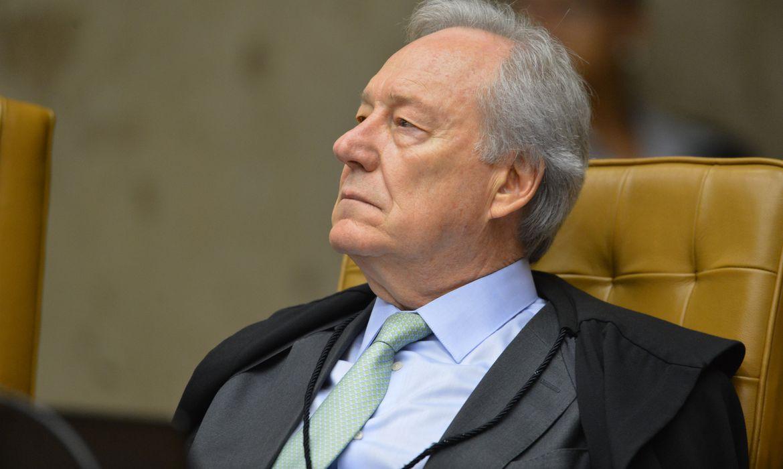 Ministro Ricardo Lewandowsk, durante a segunda parte da sessão dehoje(23) parajulgamento sobre a validade da prisão emsegundainstância do Supremo Tribunal Federal (STF).