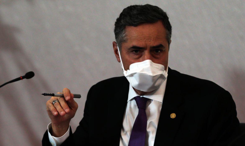 """O presidente do TSE, ministro Luís Roberto Barroso, apresenta à imprensa e à sociedade, o """"Plano de Segurança Sanitária para as Eleições Municipais de 2020"""""""