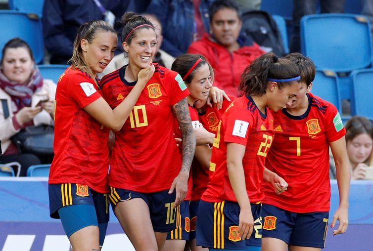 Seleção da Espanha na Copa do Mundo de Futebol Feminino 2019 - França 2019.