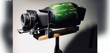 Fotógrafo constrói as próprias câmeras utilizando materiais inusitados