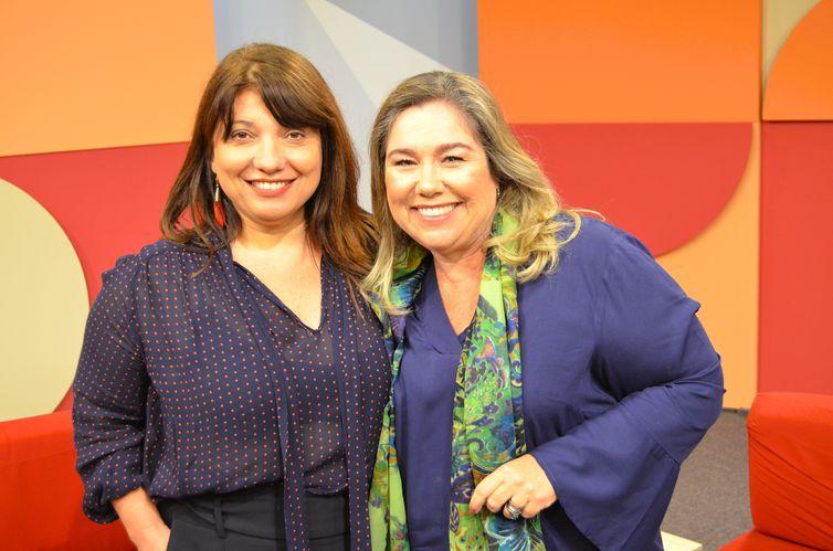 A cineasta Susanna Lira e Katy Navarro