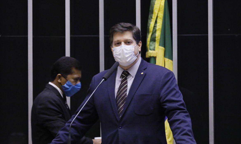 Deputado Baleia Rossi lança sua candidatura à presidência da Câmara dos deputados em Brasília