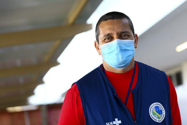 Sávio Sarqis, administrador do Hospital referência no tratamento da Covid19 em Macapá.