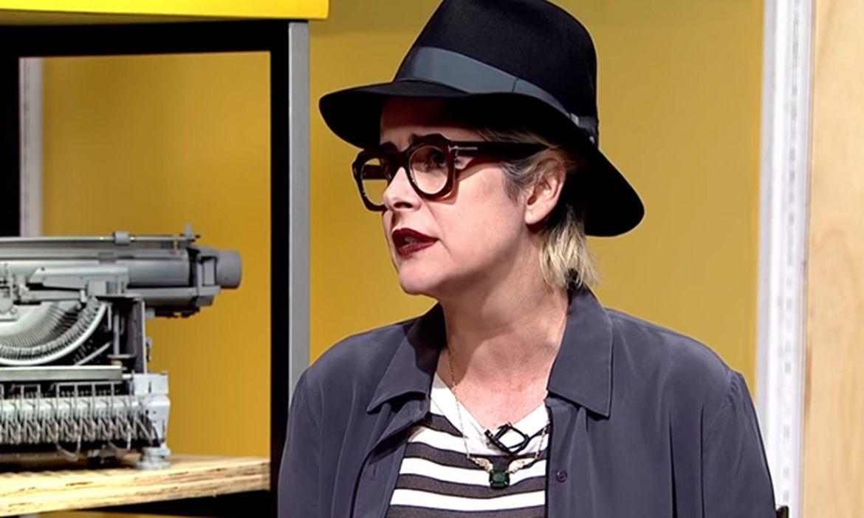 Escritora Fernanda Young, participa do programa Trilha de letras da TV Brasil