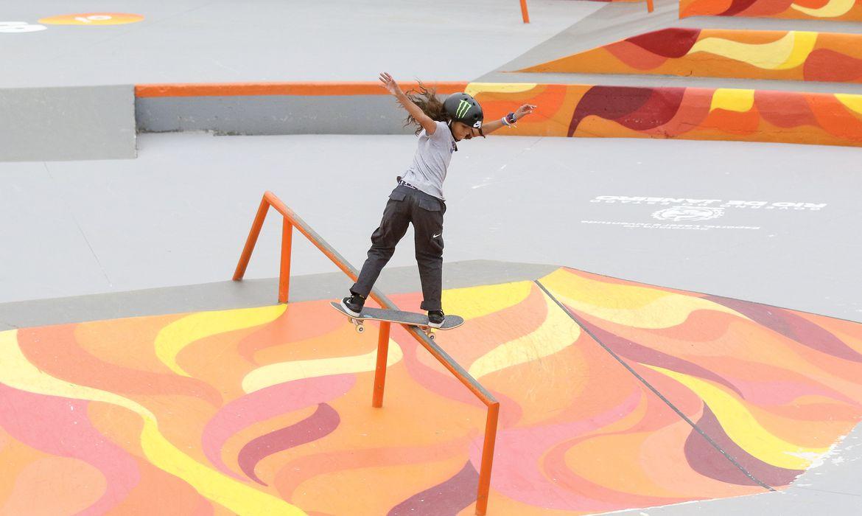 Rayssa Leal,Competição de skate -  Oi STU Open -  na Barra da Tijuca