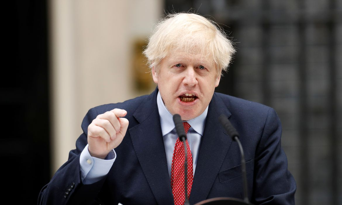 Britain's Prime Minister Boris Johnson to return to work on Monday