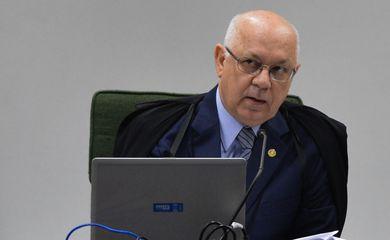STF analisa recurso sobre ex-diretor da Petrobras, o ministro e relator do processo, Teori Zavascki, preside a segunda turma que julga o recurso da PGR (Valter Campanato/Agência Brasil)