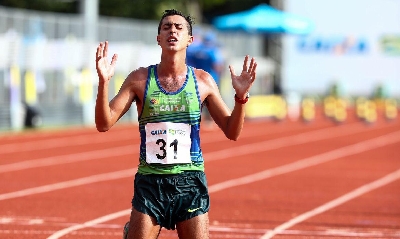 Caio Bomfim confirma vaga nos 50 Km