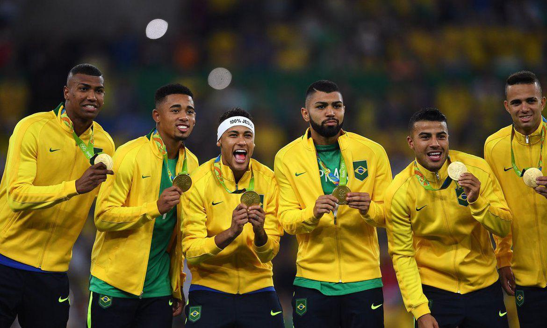 Brasil ganha ouro inédito no futebol ao vencer a Alemanha no Maracanã