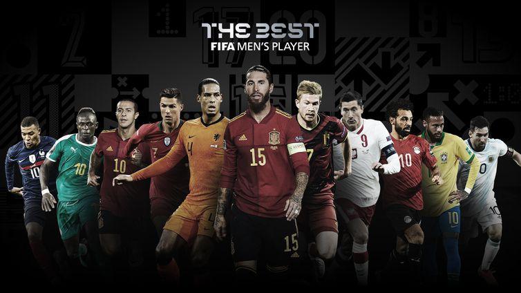 Indicados ao prêmio The Best 2020 da Fifa - Neymar e Alisson