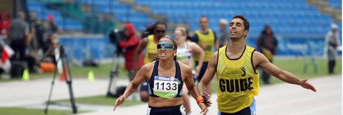Terezinha Guilhermina é uma das promessas de medalha nas Paralimpíadas de Londres
