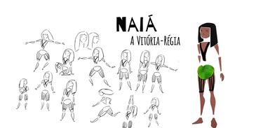 Naiá, a Vitória-régia