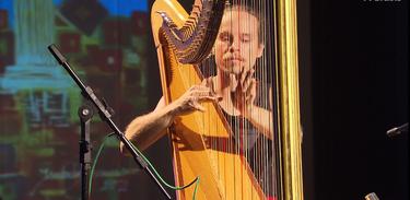 Partituras recebe o harpista Daniel Zanatta