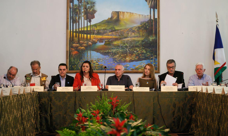 Boa Vista -  Encontro com Líderes Políticos de Roraima (Beto Barata/PR)