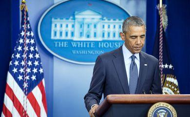 O presidente dos Estados Unidos, Barack Obama, faz pronunciamento sobre o atentado em uma boate de Orlando (Divulgação/Casa Branca)