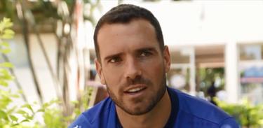 TV Brasil Esporte entrevista o zagueiro Lucas Fonseca