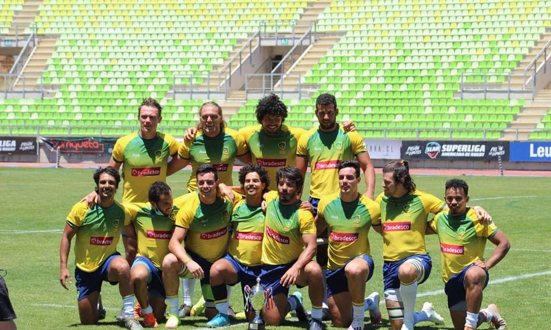 Seleção brasileira, os Tupis 7s, ficaram com o vice-campeonato do sul-americano de rugby de 2020.