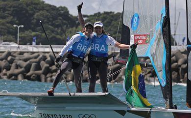 Martine Grael, Kahena Kunze, 49er FX, vela, toquio 2020, olimpíada