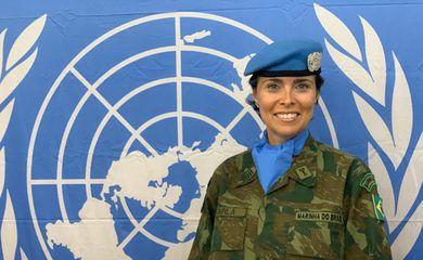 Carla Monteiro de Castro Araújo , 50, é comandante na Missão de Paz da Organização das Nações Unidas na República Centro-Africana
