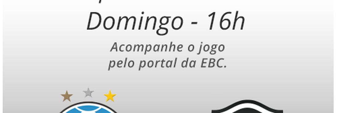 Arte do jogo Grêmio e Botafogo 14/07