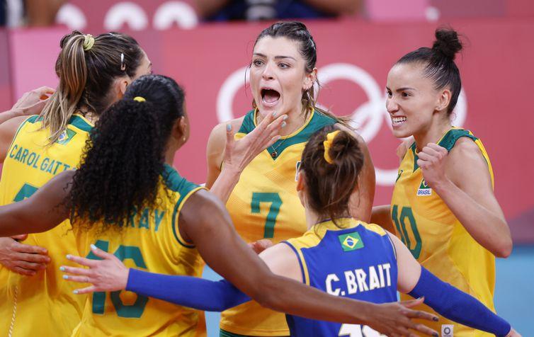 Brasil bate Comitê Olímpico Russo: 3 a 1