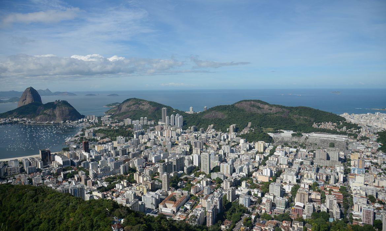 Vista da Enseada de Botafogo e Pão de açucar