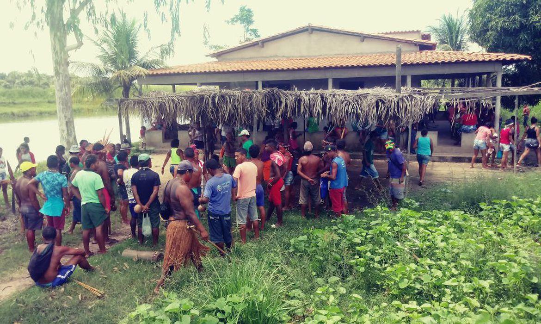 O ataque ocorreu no Povoado das Bahias. área de etnia gamela