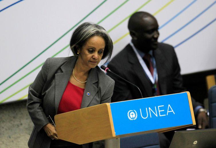 Etiópia, Sahle-Work Zewde, presidente