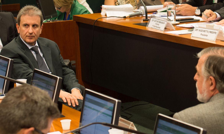 CPI da Petrobras faz acareação entre o doleiro Alberto Youssef e o ex-diretor de Abastecimento da Petrobras Paulo Roberto Costa (Fabio Rodrigues Pozzebom/Agência Brasil)