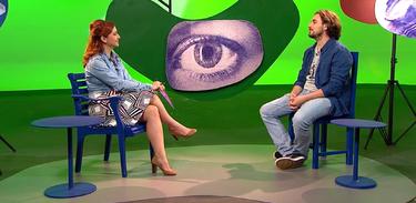 Tâmara Freire conversa com o diretor Bruno Lima