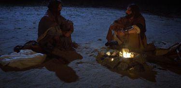Moisés e Arão no deserto