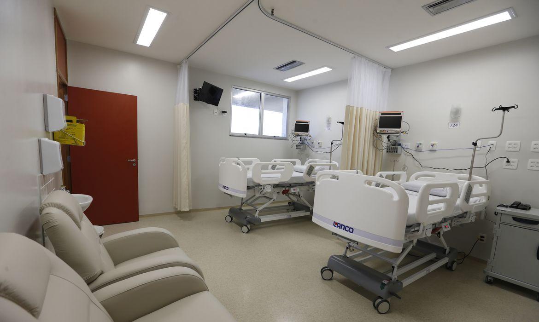 Rio de Janeiro -  O Instituto Nacional de Câncer José Alencar Gomes da Silva inaugura ala com quatro novos leitos, no Centro de Transplante de Medula Óssea (Tânia Rêgo/Agência Brasil)