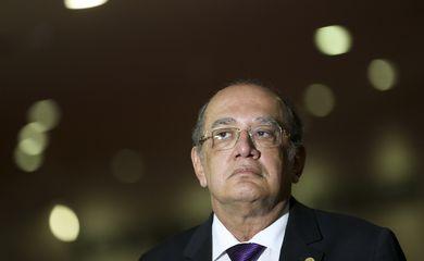 Brasília - O ministro Gilmar Mendes durante lançamento do projeto Partiu Mudar: Educação para a Cidadania Democrática no Ensino Médio (Marcelo Camargo/Agência Brasil)