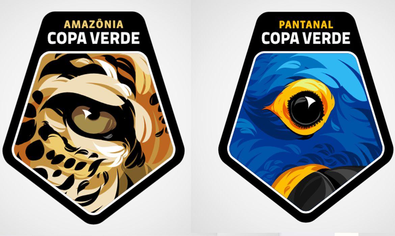 Finalistas da Copa Verde homenageiam onça-pintada e arara-azul Patchs a serem usados por Remo e Brasiliense farão alusão às espécies