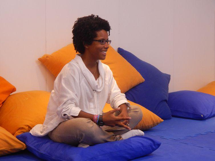 Andressa faz parte do Instituto Priorit que desenvolve atividades para o público com especto autista