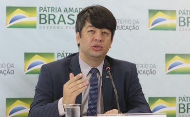 O secretário de Educação Superior, Arnaldo Barbosa de Lima Júnior,  apresenta informações sobre o Sistema de Seleção Unificada (Sisu).