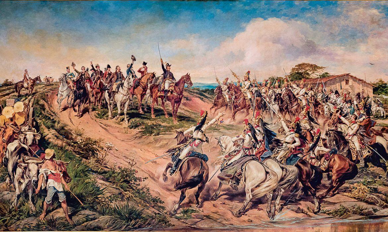 Independência do Brasil, Pedro Américo, gravuras, imagens antigas, independência.
