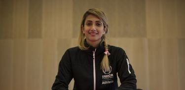 Dina Pouryounes Langeroudi, atleta refugiada