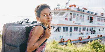 ONG retoma atividades em barco para atender população ribeirinha no AM