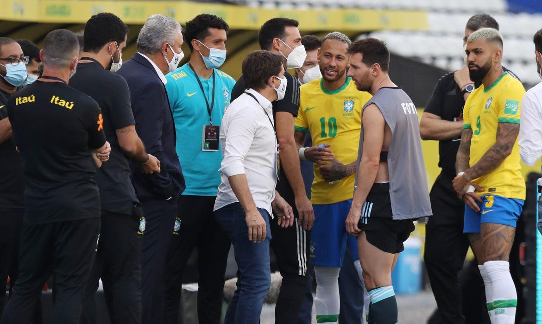 Messi, Neymar, brasil, Argentina, eliminatórias, Anvisa