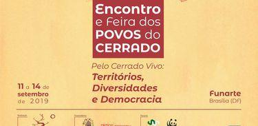 Brasília recebe o IX Encontro e Feira dos Povos do Cerrado