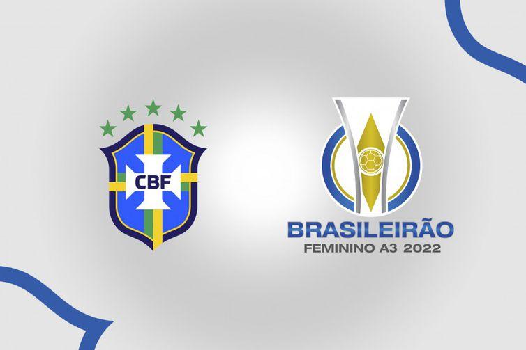 A3 - Terceira Divisão - Brasileiro Feminino 2022 - logo - CBF