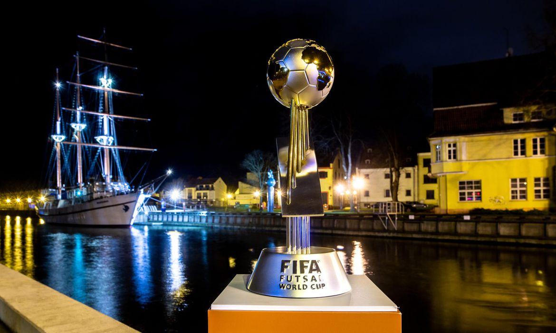 Taça da Copa do Mundo de Futsal.