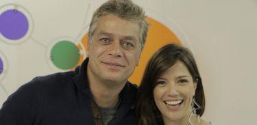 Fábio Assunção e Natália Lage no Revista do Cinema Brasileiro