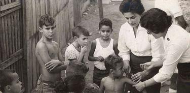 Vacinação contra a Varíola em 1963