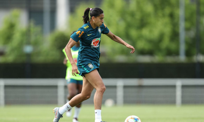 Para Andressa Alves Andressa, jogar em Montpellier é se sentir em casa