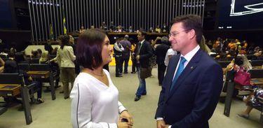 Roseann Kennedy entrevista o deputado federal João Roma no programa Impressões