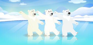 Luna quer saber porque os ursos polares são brancos