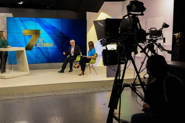 7 de Setembro; Independência do Brasil; TV Brasil bastidores